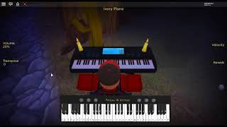 Chivalry is Dead by: Trevor Wesley on a ROBLOX piano.