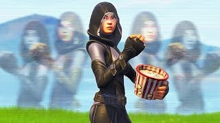 GOTH GIRL FOUND ON FORTNITE   Whos Chaos