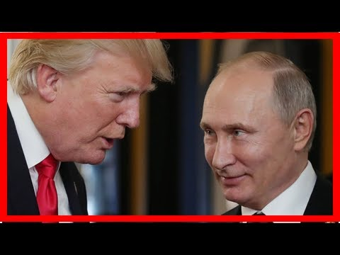 Trump says he trusts both intelligence agencies and putin on election meddling