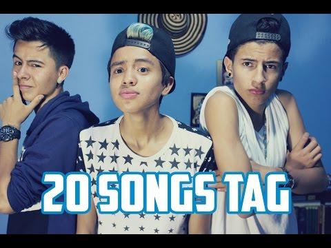 20 songs tag | ft NiggaVlogs & Daniel Murcia