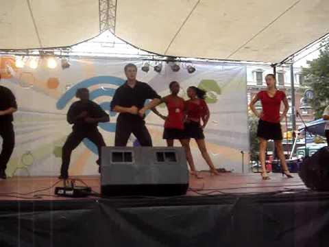 Latin Festival on Main Street in Columbia South Carolina
