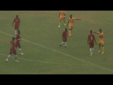 Ghana Black Stars 'B' 1-1 Benin 'B' international friendly first Half