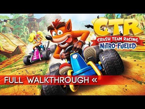 Crash Team Racing Nitro Fueled Full Gameplay Walkthrough (No Commentary) Story Mode