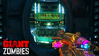 "BLACK OPS 3 ZOMBIES ""THE GIANT"" EASTER EGG HUNT GAMEPLAY! (BO3 Zombies)"