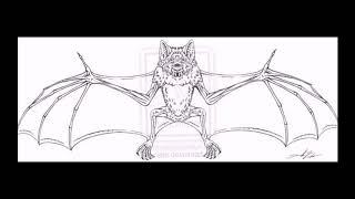 Эскизы тату летучая мышь - оригинальные рисунки для нанесения татуировки