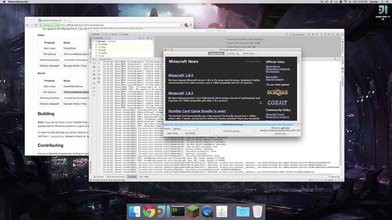 Running Sponge Server From IntelliJ YouTube - Minecraft sponge server erstellen 1 8