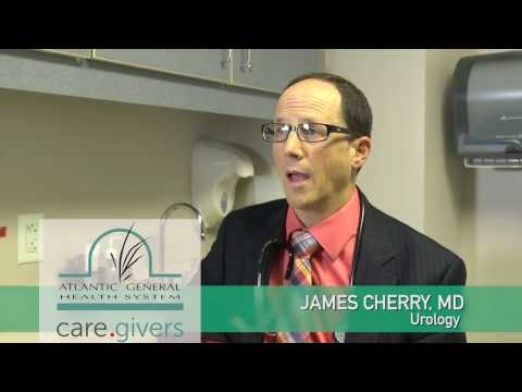 Dr. James Cherry with Atlantic General Urology