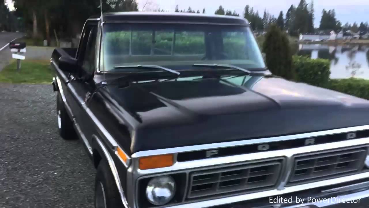 1977 ford f 250 xlt trailer special