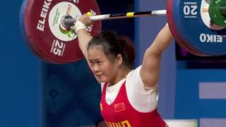 2 lifts, 3 world records for Deng Wei