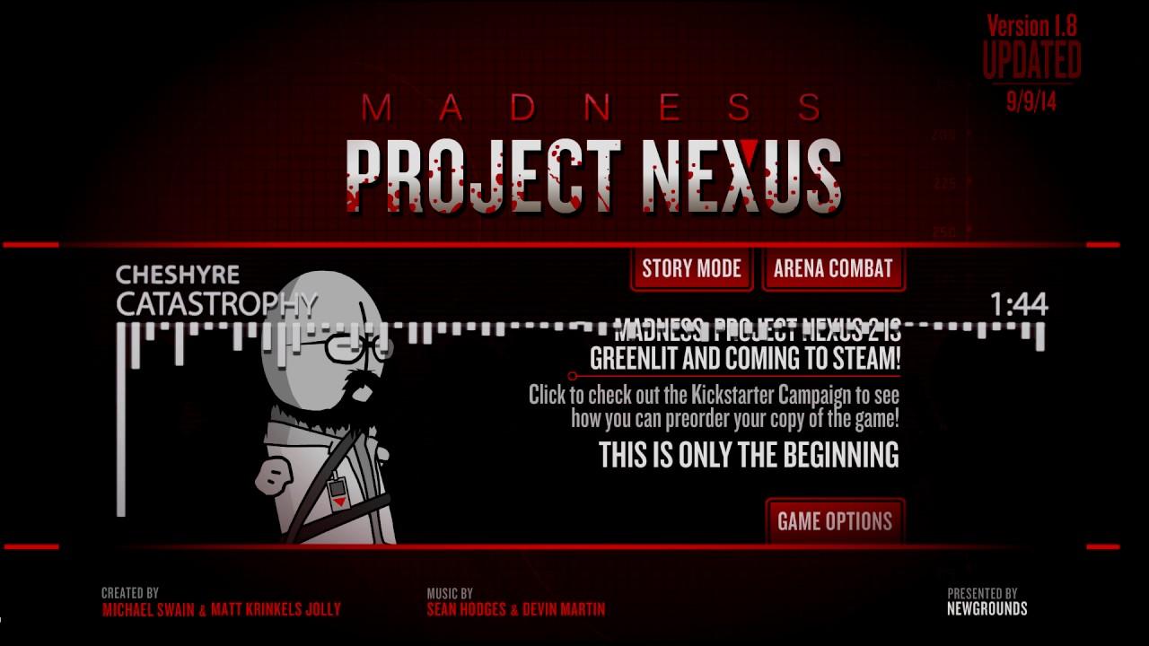 Madness Project Nexus Classic Soundtrack Cheshyre