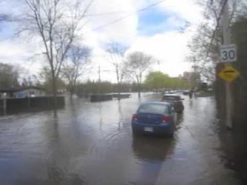 Montreal Island Flooding - May 7, 2017