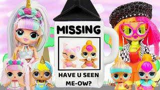OMG Big Sisters Babysitting Fail LOL Mane 6 Rescue Claw Machine Game Disaster