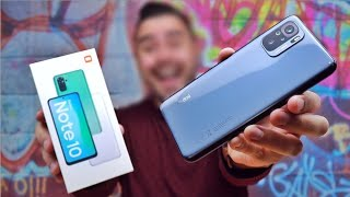 فتح علبة و مراجعة شاومي ريدمي نوت 10 - Xiaomi Redmi Note 10 Unboxing & Review