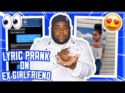 """ROD WAVE """"THIEF IN THE NIGHT"""" LYRIC PRANK ON TOXIC EX 😬😅 *GONE RIGHT*"""