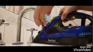 tefal Turbo Pro Fv5648 Pt 2 Steam Iron Review  Self auto clean iron  Online tech review