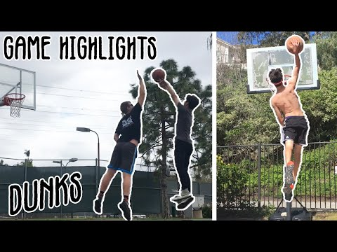 Basketball King Of The Court + Low Rim Dunk Session