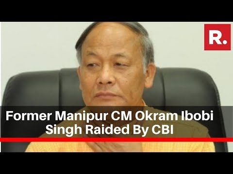 Former Manipur CM Okram Ibobi Singh Raided By CBI Over Allegations Of Misusing Funds
