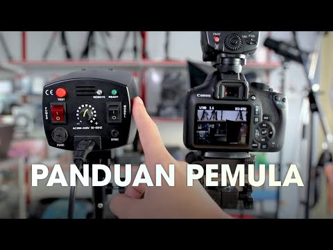 Tutorial Menyambungkan Godox Mini Master K150A ke Kamera - Panduan Photographer Pemula