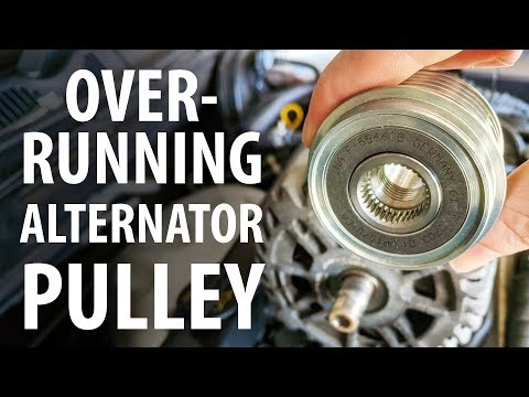 How to: Test & replace overrunning alternator pulley (OAP) Ford, VW, Audi etc