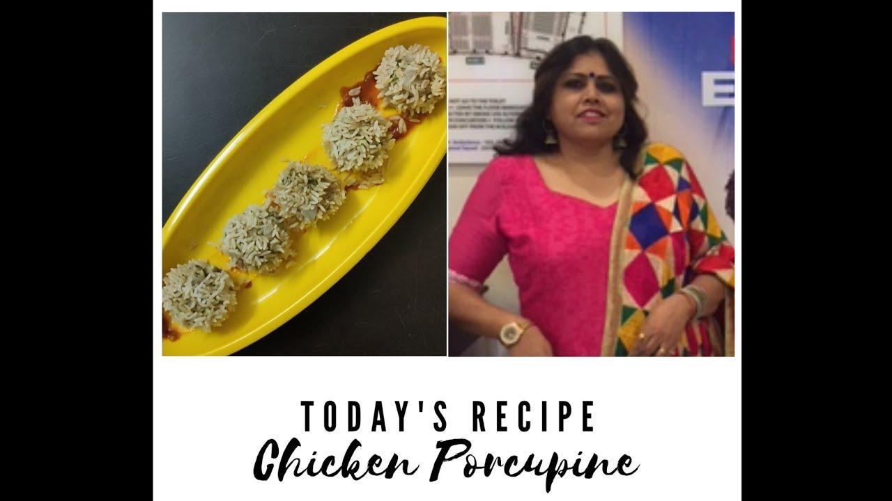 Chicken Porcupine Balls/ Chicken and Rice Momos - Super Healthy and Delicious