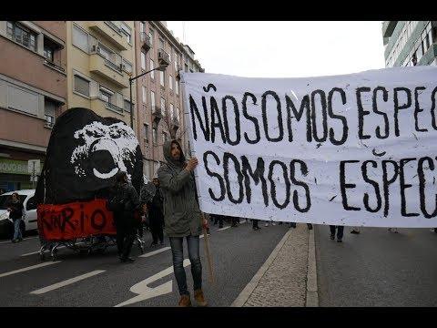 Rock in Riot Lisbon 2018 Demonstration PORTUGAL