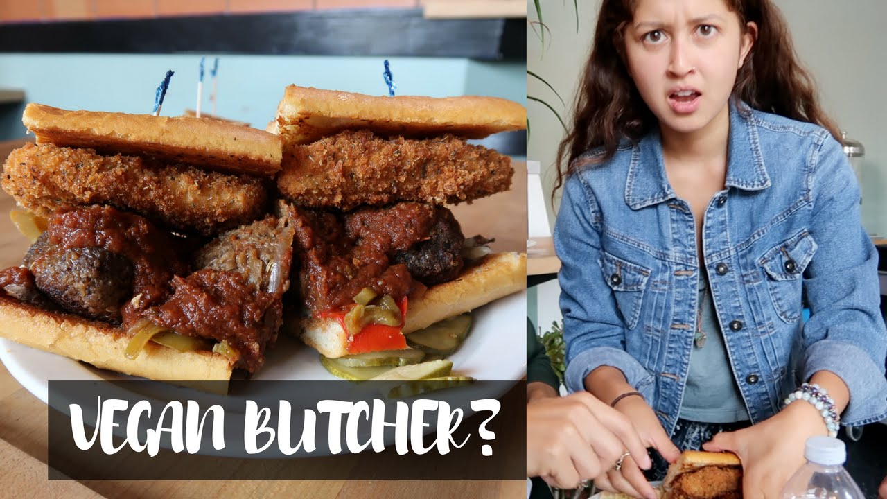 VEGANS AT A BUTCHER SHOP | Road Trip Home | Day 4