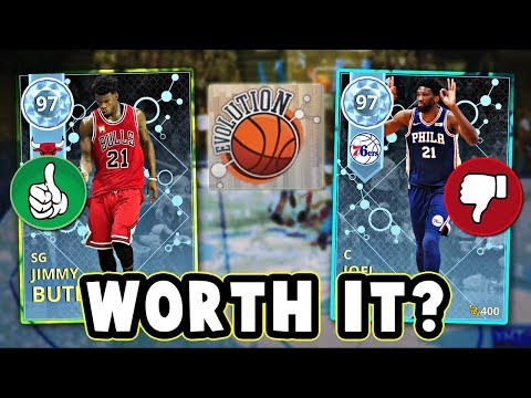 NBA 2K18 WHICH EVOLUTION CARDS ARE WORTH BUYING!! - NBA 2K18 MyTEAM
