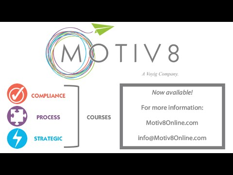 Motiv8 Online Learning - Workplace Safety Training