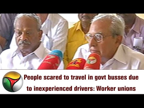 People scared to travel in govt busses due to inexperienced drivers: Worker unions
