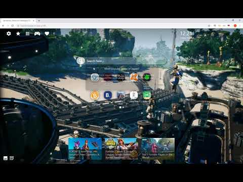 Satisfactory Game HD Wallpaper Chrome Theme