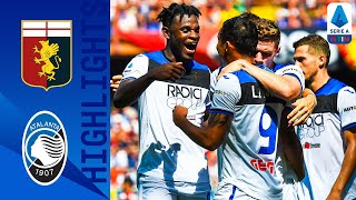 Genoa 1-2 Atalanta | Late Zapata Goal Gives Atalanta the Win! | Serie A