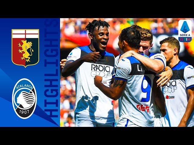 Genoa 1-2 Atalanta   Late Zapata Goal Gives Atalanta the Win!   Serie A