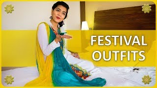 Festival Outfits In India 2017 | Diwali Ethnic Lookbook