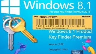 Ключи активации Windows 8.1 Pro