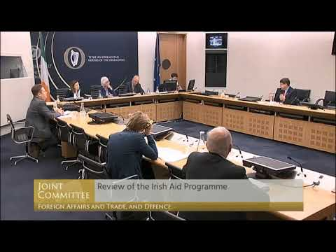 Joint Committee on Foreign Affairs & Trade Irish Aid Programme