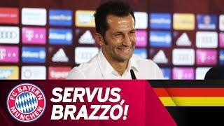 ReLive | Presentation of Salihamidžić as FC Bayern Sporting Director