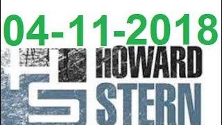Howard Stern Show  April 11 2018 Part 01 - Link comment