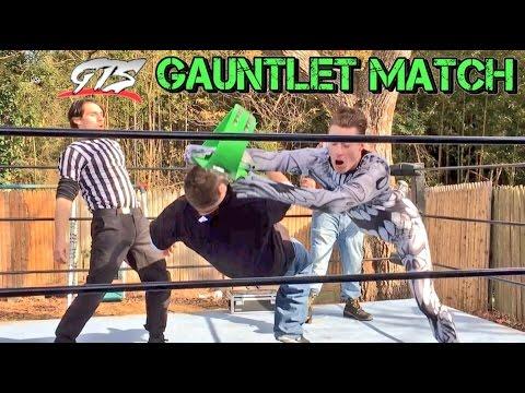 ICE DEMON VS EVERYONE in GTS CHAMPIONSHIP WRESTLING GAUNTLET MATCH!