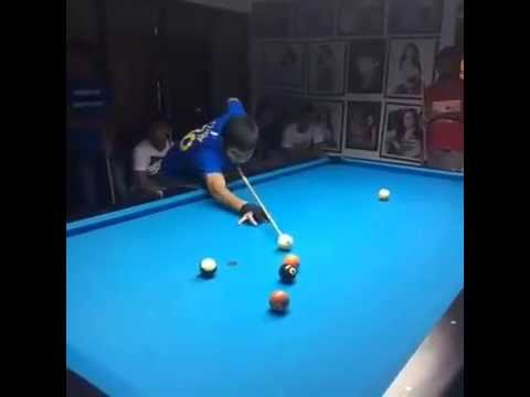 Manny Pacquiao  Played Billiard