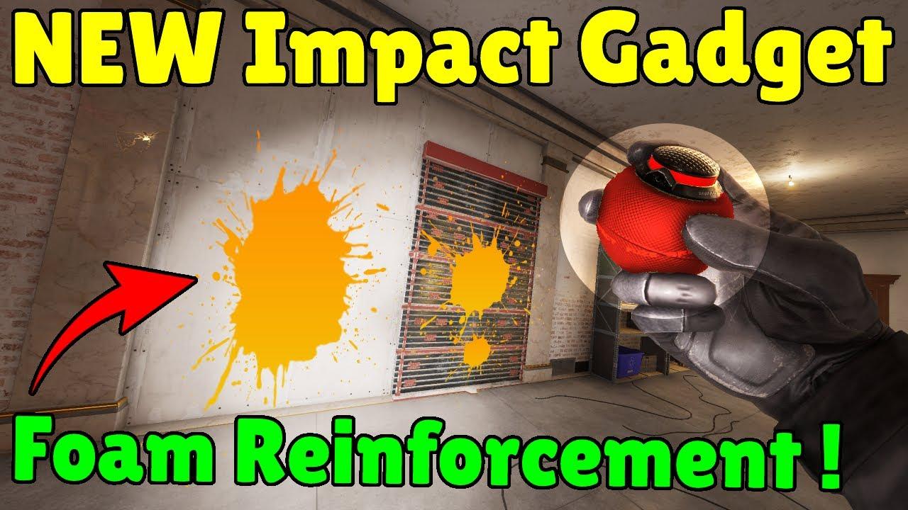 *NEW* Impact Foam Defender Gadget Concept - Rainbow Six Siege