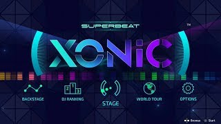 SUPERBEAT: XONiC - 40 Minute Playthrough [PS4]