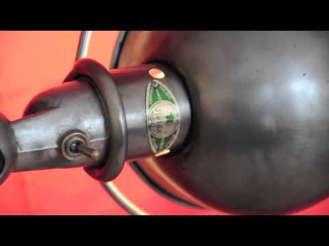 Lampe Jeidlé Cirée Graphite 4 Bras Industrie Du Loftcom