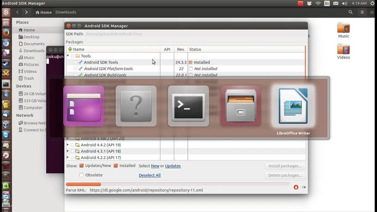 Update Adb In Ubuntu