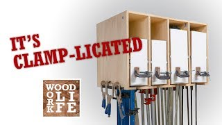 My Clamp Rack?...its Clamp-licated | Woodworking Builds