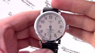 Часы Timex TW2P58800 - видео обзор от PresidentWatches.Ru
