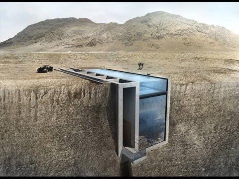OPA presents conceptual cliffside casa brutale on the aegean sea