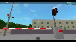Spanish railway Crossing In roblox