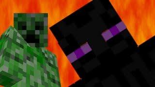 Creeper vs Enderman - Epic Rap Battles of Minecraft