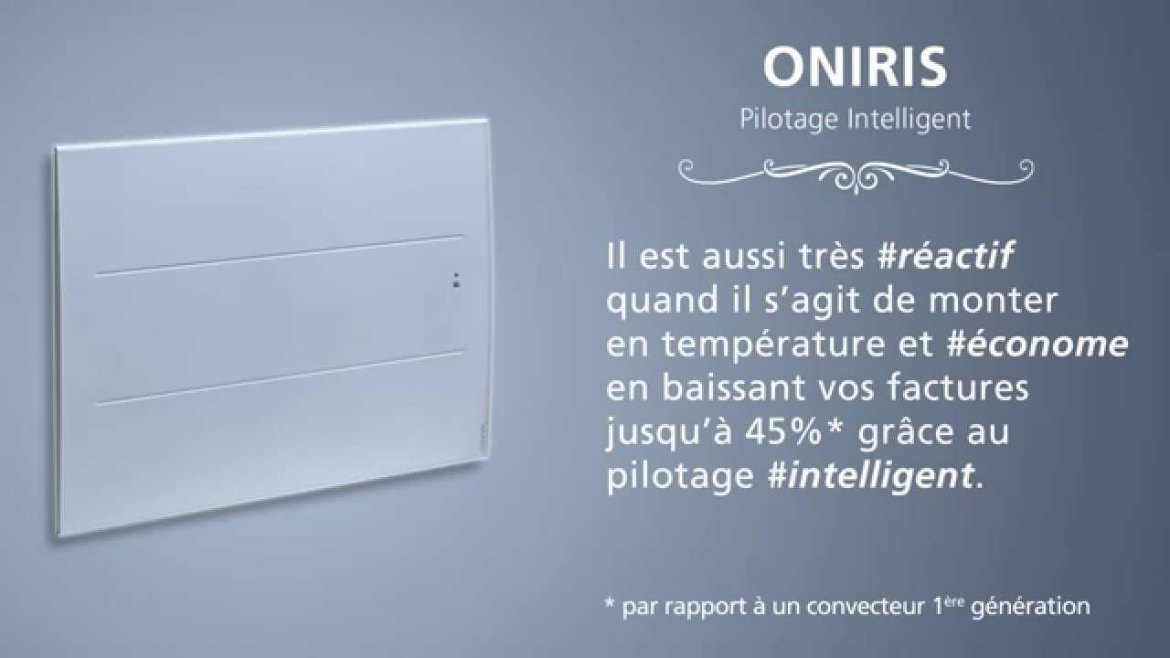 Radiateur Oniris Pilotage intelligent- ATLANTIC - YouTube