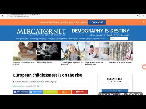 Childless European Women On The Rise